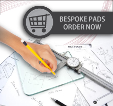 Bespoke pads - order now
